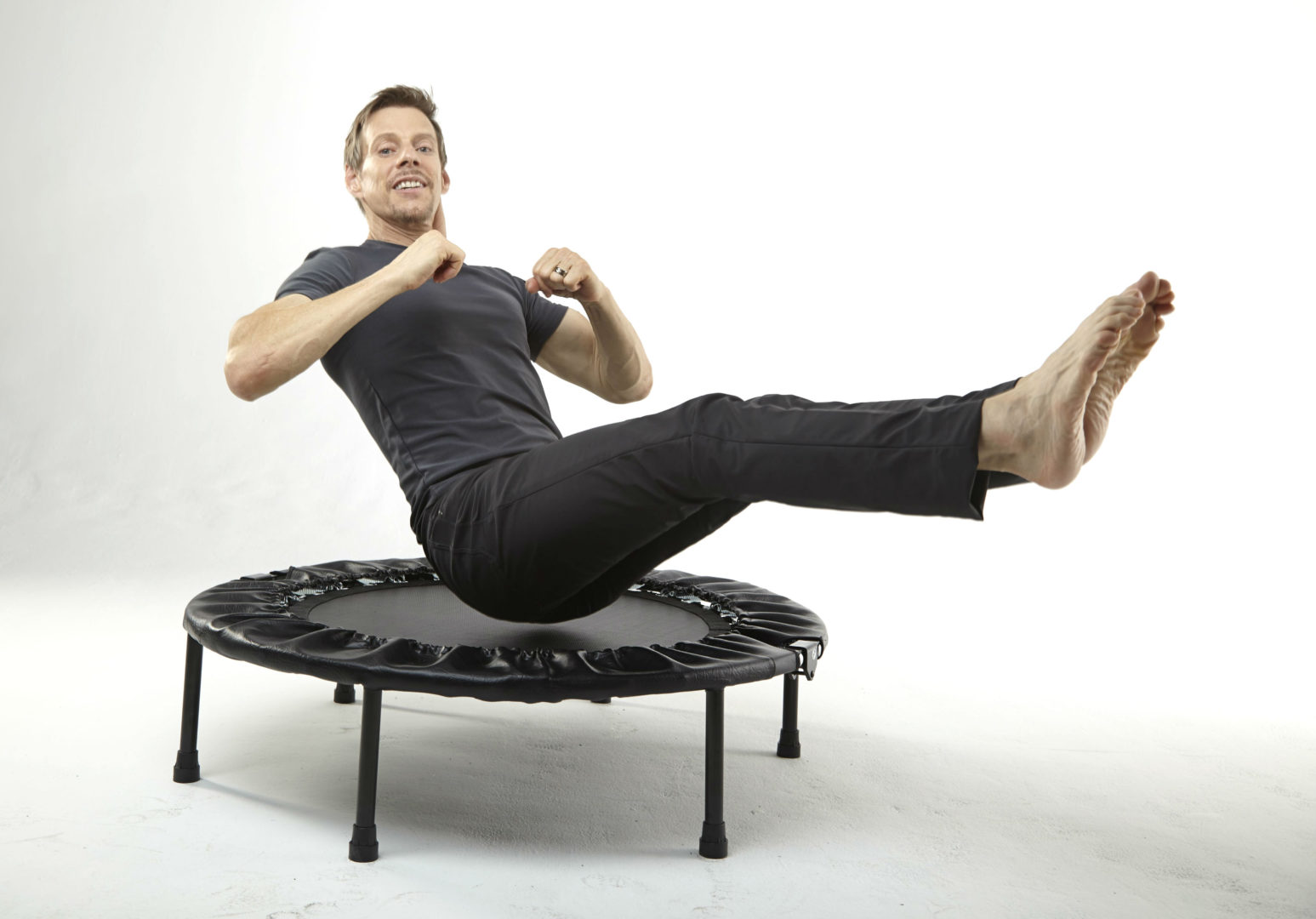 Rebounding with the Cellerciser gives you more benefits than using other mini trampolines