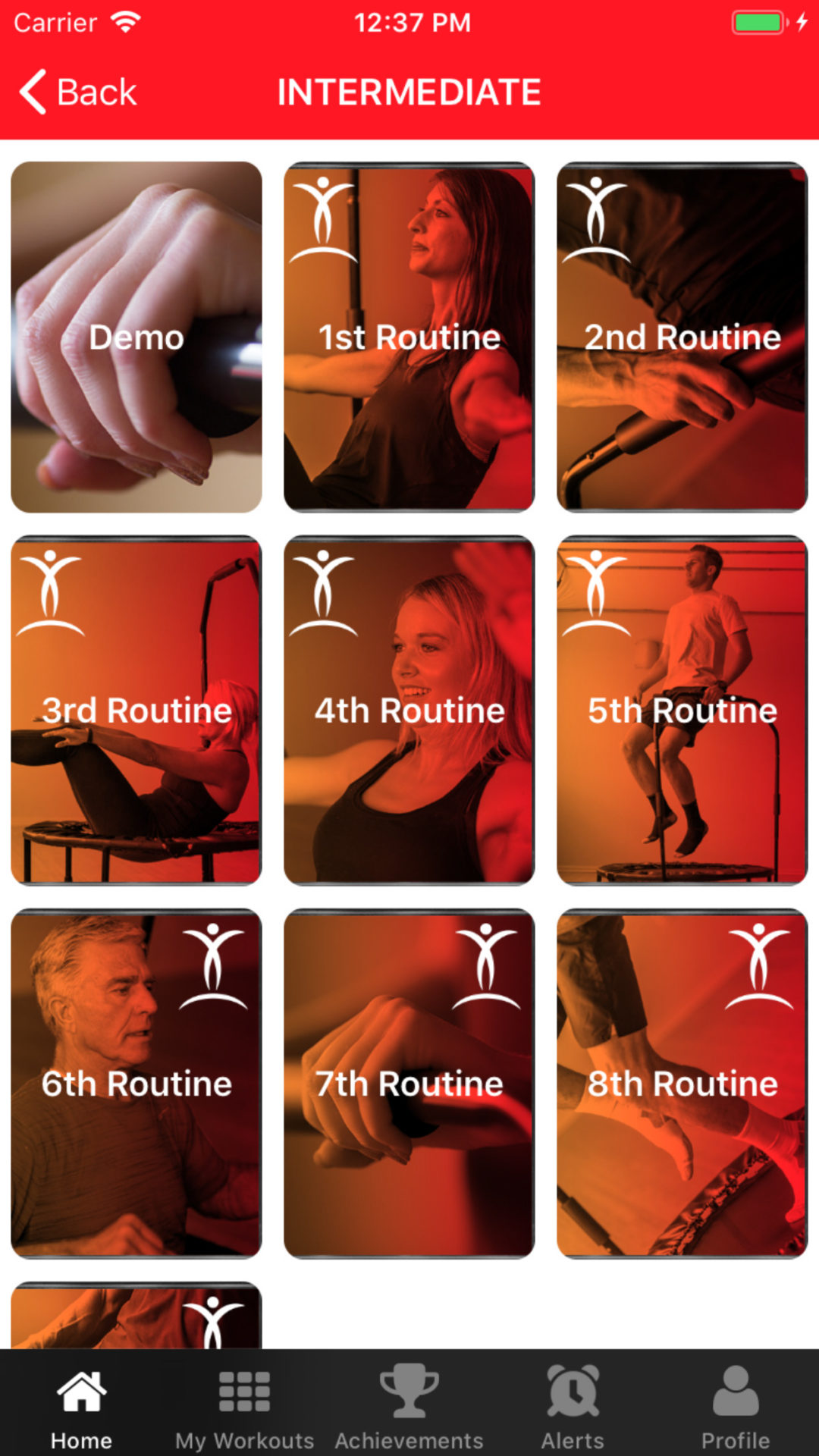 premade workouts 8 2
