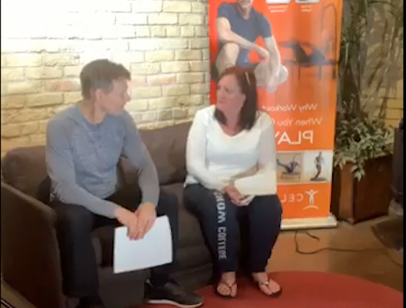 Cellercise® LIVE w/Dave and Christine – Week 6